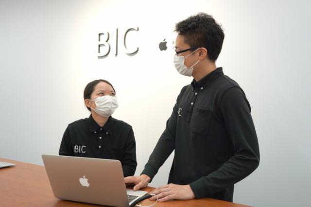 Apple製品修理サービス【ビックカメラ天神1号館】の画像・写真